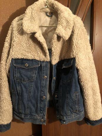 Topshop джинсовая шерпа!