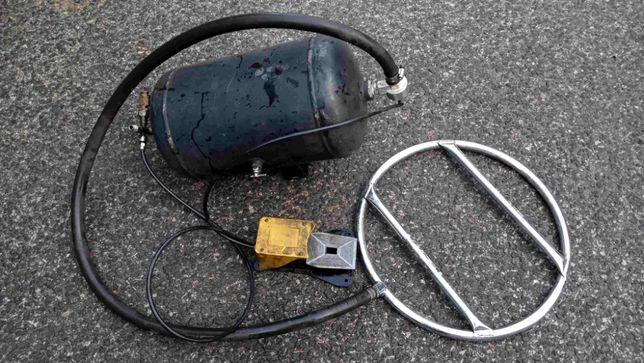 Inflator uderzeniowy zbiornik ciśnieniowy do pompowania kół 25L