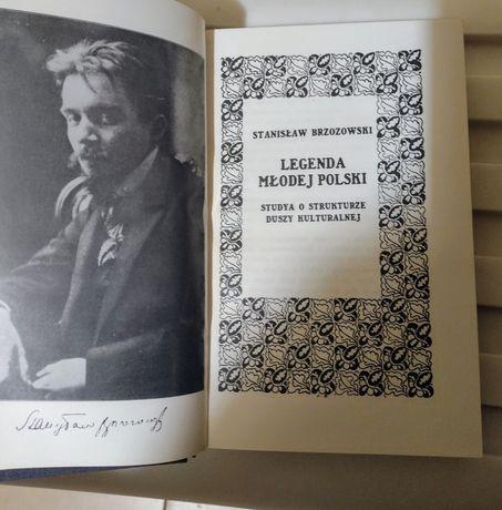 Książka Legenda młodej Polski Stanisław Brzozowski .