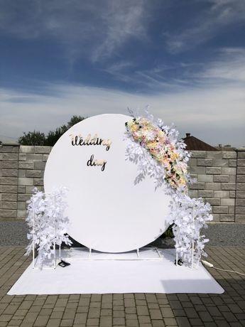 декор весіль та інших святкових подій, оренда