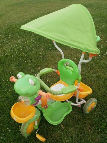 Rowerek trójkołowy żabka