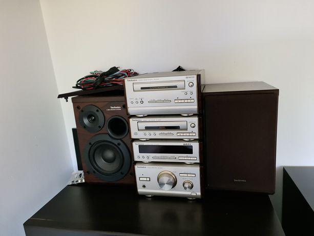 Audiofilska mini wieża Technics SE HD 501