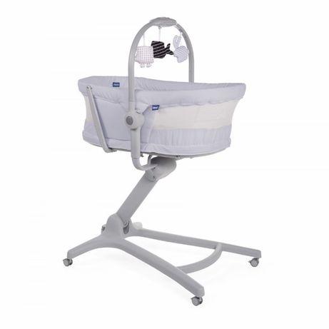 BABY HUG AIR STONE 4w1 leżaczek kołyska krzesełko do karmienia Chicco