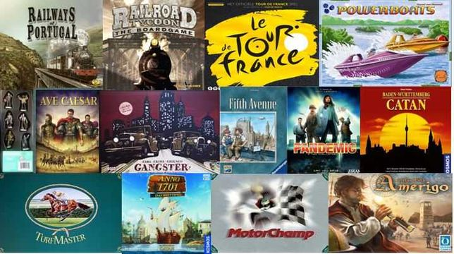Jogos de Tabuleiro - mais de 100 jogos - 4,99, 9,99, 14,99 ...
