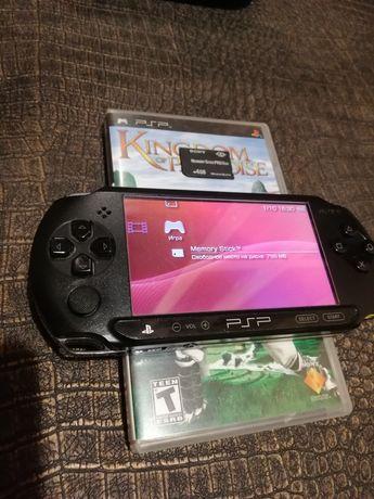 Psp PlayStation Portable + 20 гб игр!