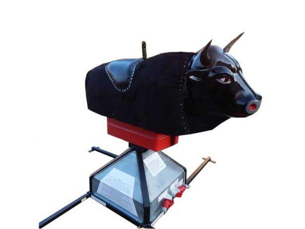 Dmuchaniec, zamek dmuchany, zjeżdżalnia, mechanizm do byka rodeo