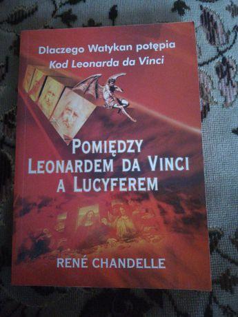 Pomiędzy Leonardem Da Vinci a Lucyferem. Stan bardzo dobru