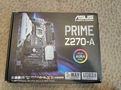 Asus Prime Z270 Thunderbolt + i7 6820HQ