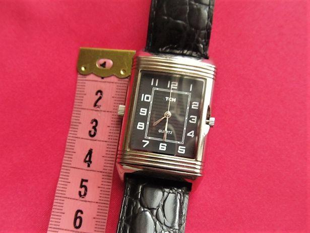 Часы ТСМ наручные двухсторонние,копия часов Jaeger-LeCoultre Reverso