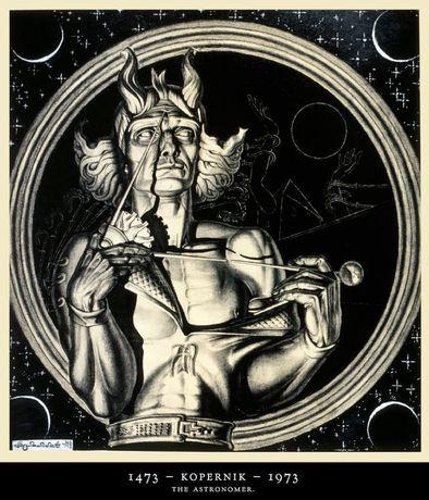 Obraz Grafika Stanisław SZUKALSKI (1893 - 1987)  Cert !