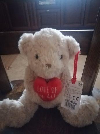 Ведмедик  іграшка м'яка