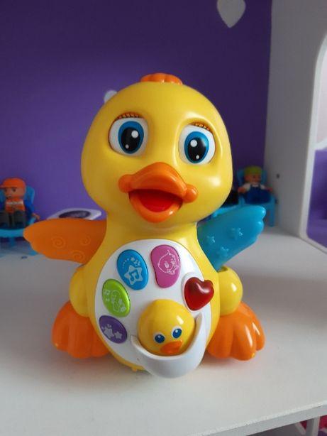 Желтый утенок от Huile Toys развивающая игрушка