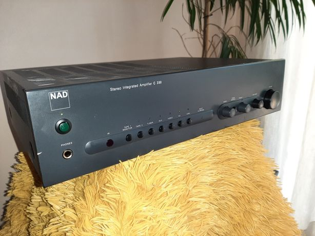 Amplificador integrado NAD C 350
