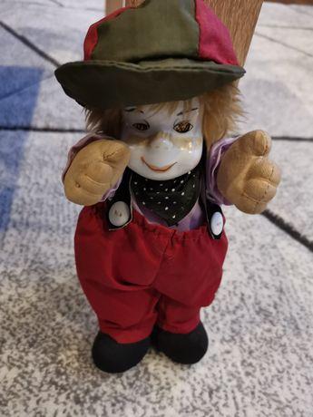 Klaun lalka - porcelana
