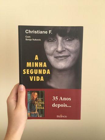 """Livro """"A Minha Segunda Vida"""" de Christiane F."""