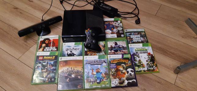 Xbox 360, 11 gier, kinect, pad, zasilacz