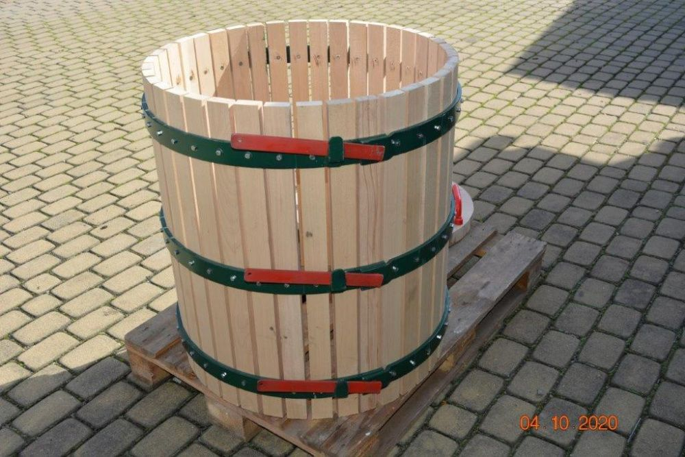 Kosz do tłoczenia winogron 290 l Jejkowice - image 1