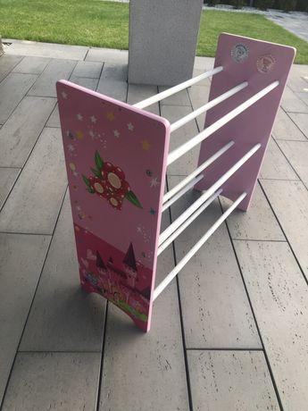 Półka na buty dla dziewczynki