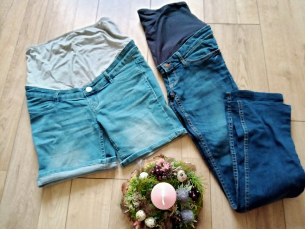 Ubrania spodnie ciążowe M
