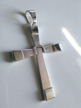 krzyż srebro 925