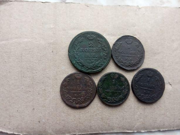 Медные монеты царской России