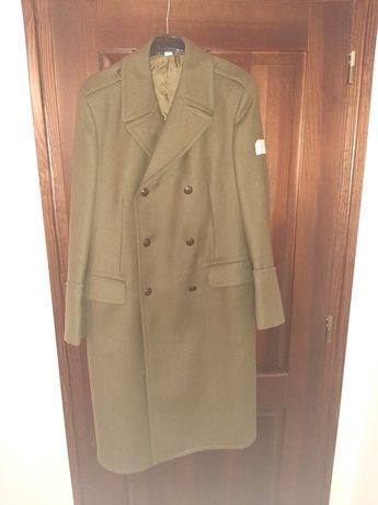 Nowy płaszcz sukienny, zimowy, wojsk lądowych.