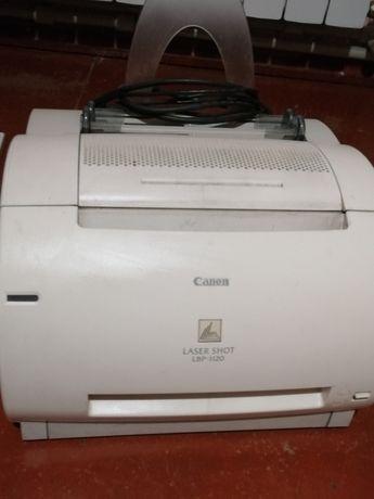 Принтер Canon б/у +3 картриджа
