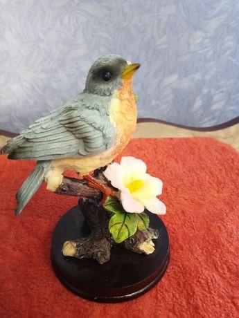 Керамические статуэтки птиц
