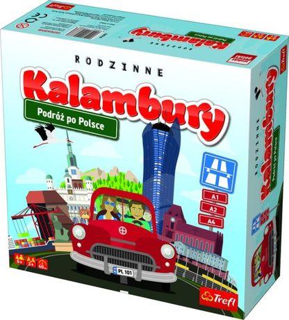 Kalambury Podróż po Polsce TREFL