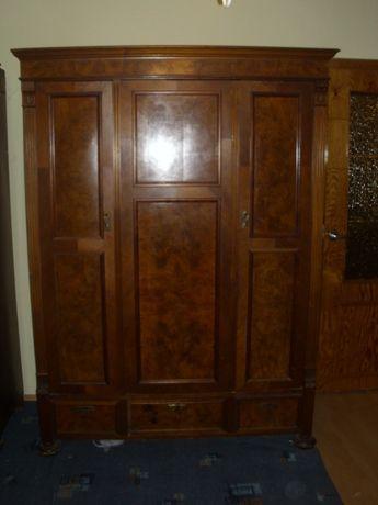 Szafa 3 drzwiowa i 2 drzwiowa z przełomu XIX wieku