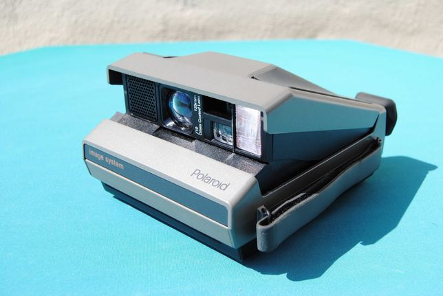 Polaroid Image System - Máquina fotográfica instantânea vintage