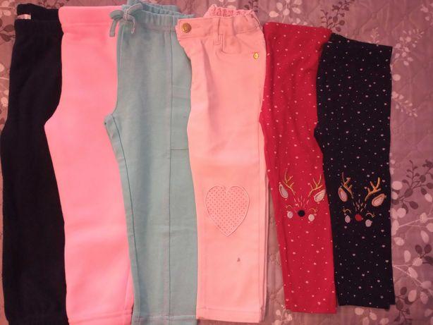 Spodnie / leginsy / jeansy 92 dla dziewczynki