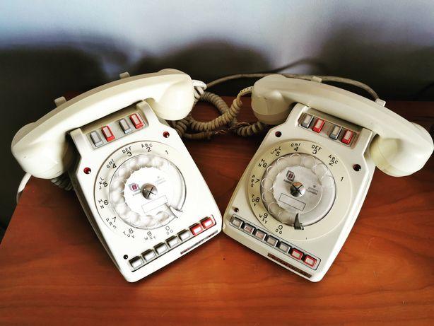 Telefone antigo vintage de disco