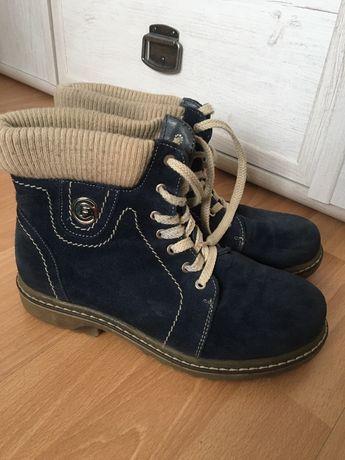 Зимние замшевые ботинки женские. 38 размер Бесплатная доставка