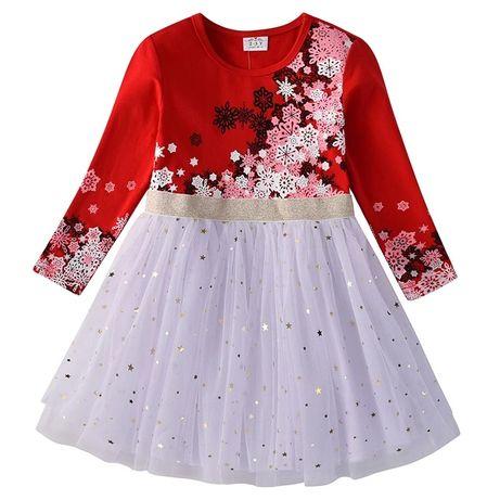 Красивое платье на девочку 4-5 лет