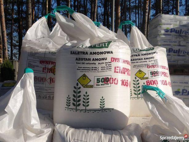 Saletra Amonowa 34,4% Litewska Super saletra, mocznik, nawozy
