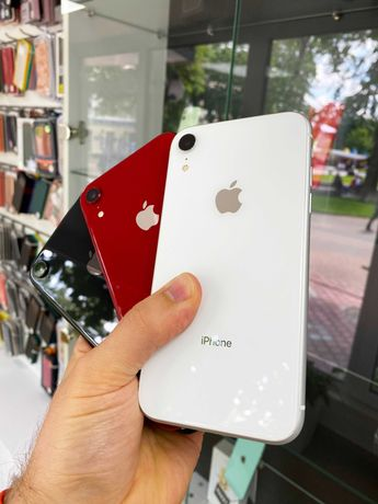 б\у iPhone Xr 128Gb + гарантія 90 днів та розстрочка 0%