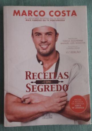 Receitas Marco Costa culinária/ aventura Os Cinco