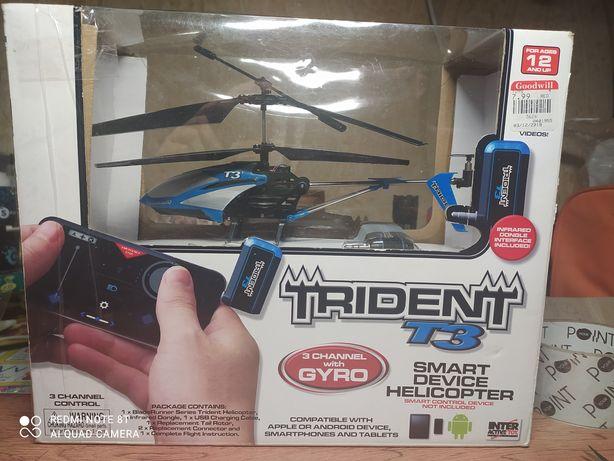 Вертолет на управлении со смартфона