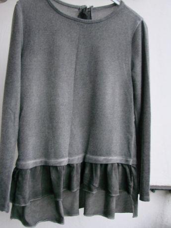 włoski sweterek z falbanką roz. L