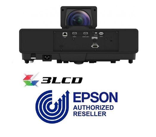 "Лазерный 4K проектор Epson EH-LS500B android TV + 100"" ALR экран"