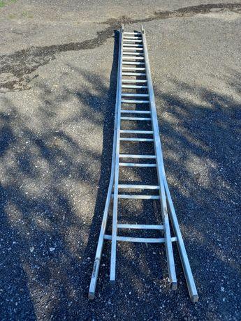Escada de aluminio 24 degraus