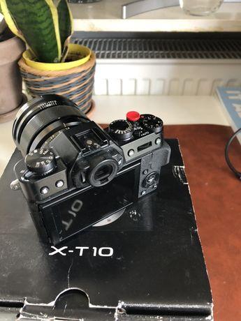 Fuji x-t10 używany ale bardzo dobry stan