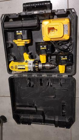 Dewalt DC945 wkrętarka wiertarka z udarem  3 akumulatory