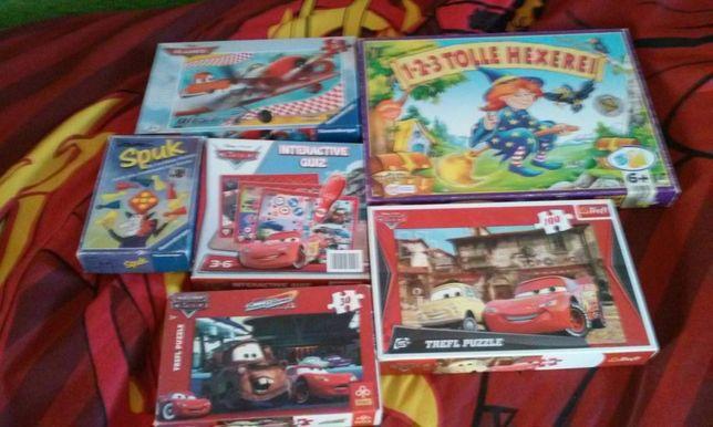 gry,puzzle, kubeczki