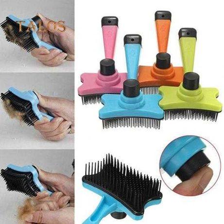 Escova para remoção de pelo para gato e cães