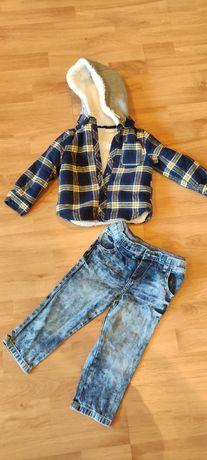 Bluza , jeansy 18 -24 miesiące