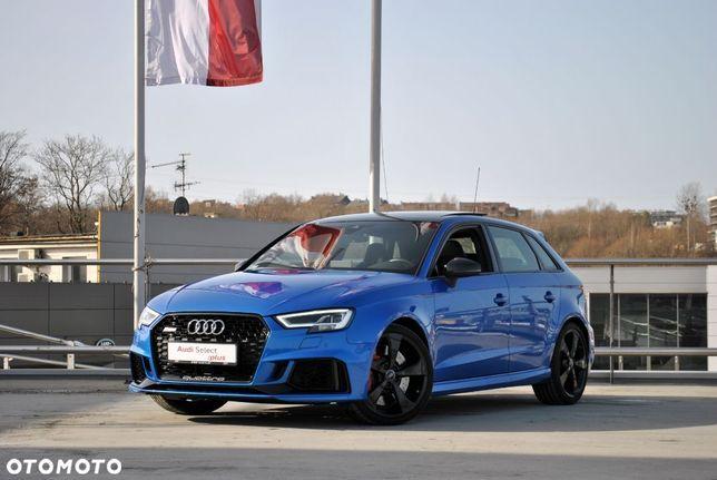 Audi RS3 RS3 DAZA Salon PL JAK NOWY! Audi Magnetic Ride! Matrix LED! Panorama!
