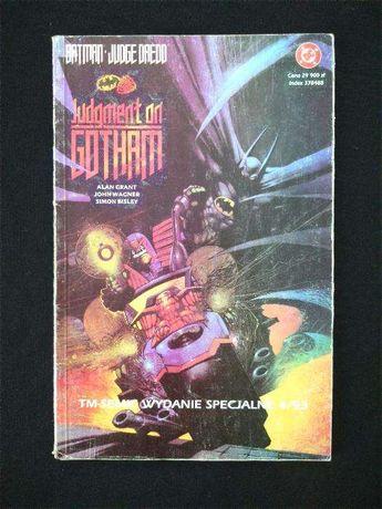 Komiks Tm-Semic BATMAN Judge DREDD aut. Grant Bisley UNIKAT ! i inne