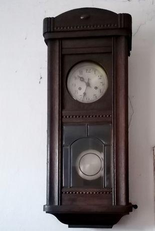 Zegar ścienny Gustav Becker z wahadłem - Antyk